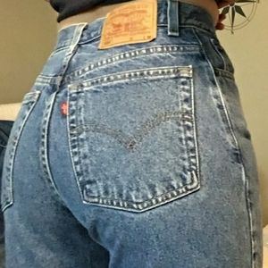 Levi's Vintage Relaxed Tapered High Waist Jeans